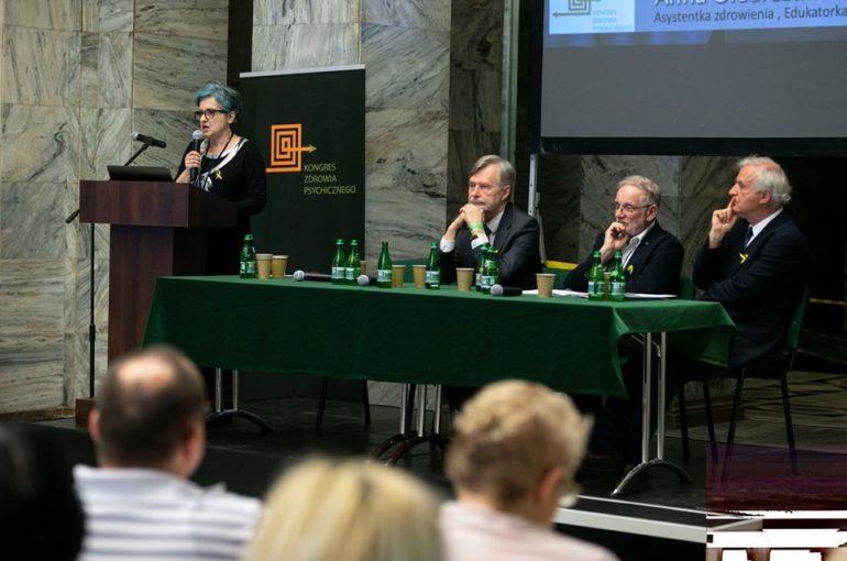 Asystenci Zdrowienia na Kongresie Zdrowia Psychicznego w Warszawie