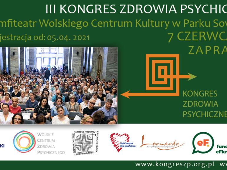 III Kongres Zdrowia Psychicznego